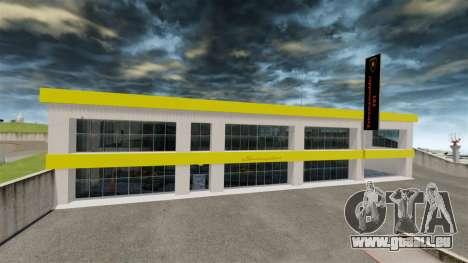 Salon de l'automobile Lamborghini pour GTA 4