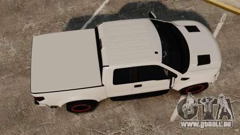 Ford SVT Raptor 2012 pour GTA 4 est un droit