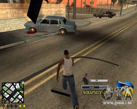 C-HUD by Alex-Castle pour GTA San Andreas troisième écran