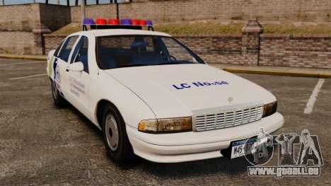 Chevrolet Caprice Police 1991 v2.0 N.o.o.s.e für GTA 4