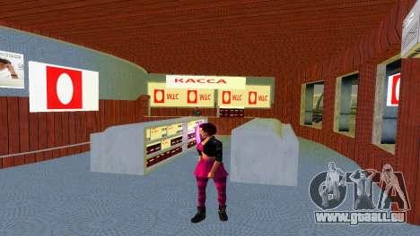 Boutique de MTS pour le quatrième écran GTA Vice City