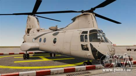 Boeing CH-46D Sea Knight pour GTA 4