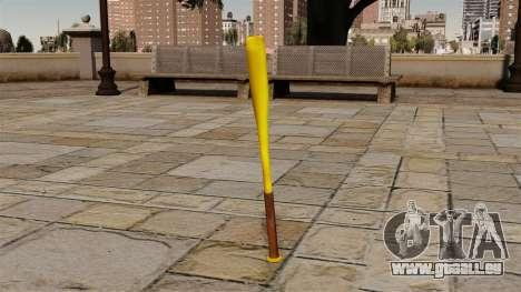 Batte de baseball doré pour GTA 4