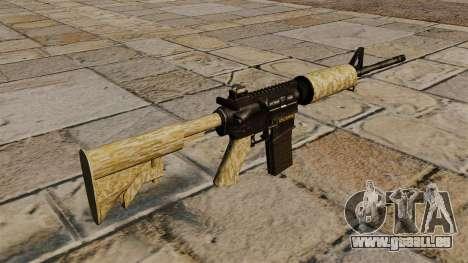 Automatique carabine M4A1 désert pour GTA 4 secondes d'écran