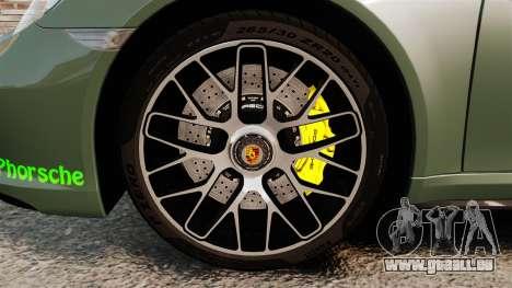 Porsche 911 Turbo 2014 [EPM] Ghosts pour GTA 4 Vue arrière
