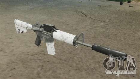 Mise à jour de M4 carabine automatique pour GTA 4