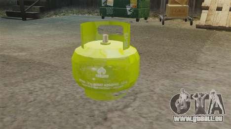 Bombe de gaz pour GTA 4