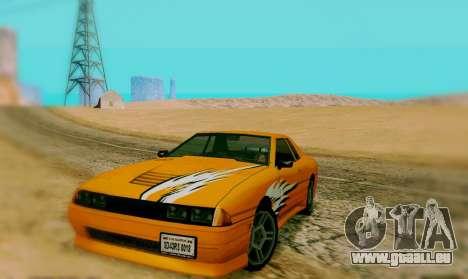 Die Malerarbeiten für Elegy für GTA San Andreas