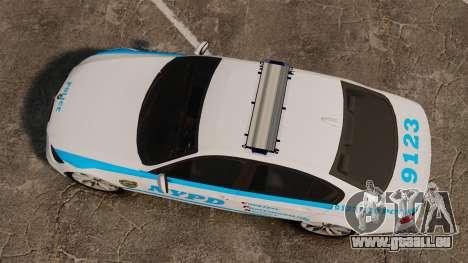 BMW 350i NYPD [ELS] für GTA 4 rechte Ansicht