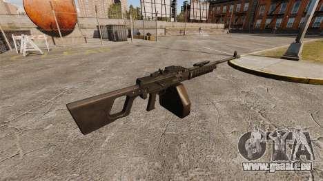 QJY-88 allgemeine Zweck-Maschinengewehr für GTA 4 Sekunden Bildschirm