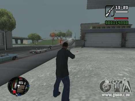 Neue Motorhaube und Symbole auf der Karte für GTA San Andreas sechsten Screenshot