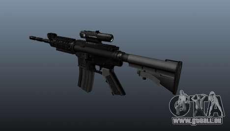 Carabine M4 du pique-notes pour GTA 4 secondes d'écran