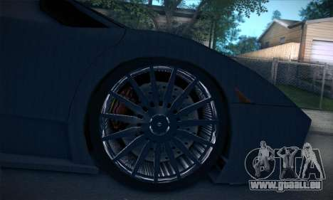 Lamborghini Murcielago GT Carbone für GTA San Andreas Innen