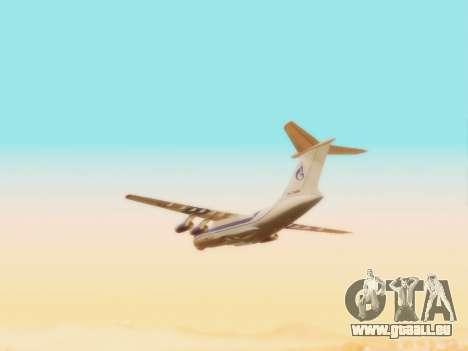 Gazpromavia il-76td pour GTA San Andreas vue intérieure