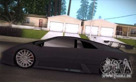 Lamborghini Murcielago GT Carbone pour GTA San Andreas roue