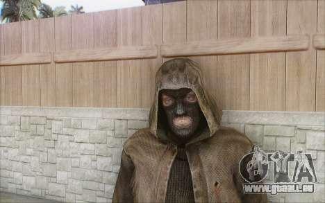 Bandit dans le manteau pour GTA San Andreas deuxième écran