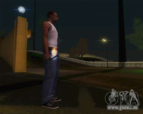 Champagne pour GTA San Andreas deuxième écran