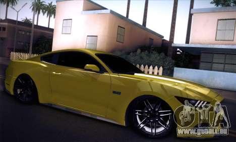 Ford Mustang 2015 Swag für GTA San Andreas rechten Ansicht