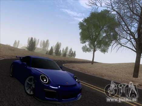 Porsche 911 GT3 2014 pour GTA San Andreas vue de droite