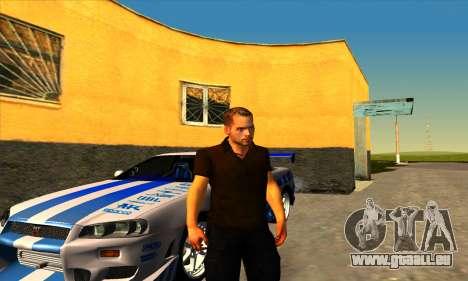 Paul Walker für GTA San Andreas zweiten Screenshot