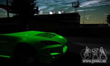 Honda S2000 Amuse GT1 pour GTA San Andreas vue intérieure