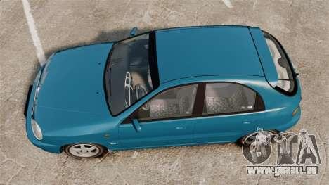 Daewoo Lanos PL 2001 pour GTA 4 est un droit