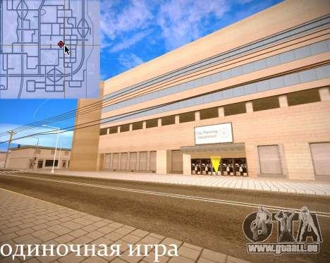 Nouvelles textures intérieur Mairie pour GTA San Andreas onzième écran