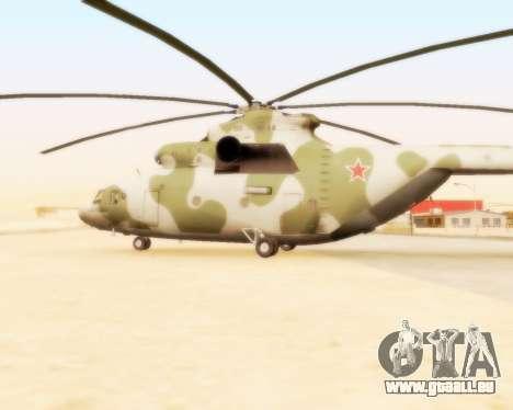 MI-26 für GTA San Andreas linke Ansicht