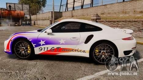 Porsche 911 Turbo 2014 [EPM] America für GTA 4 linke Ansicht