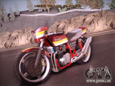 Kawasaki Z-400FX Street Drag T2 pour GTA San Andreas