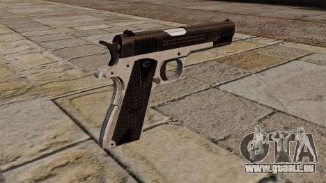 Pistolet semi-automatique Taurus PT1911 pour GTA 4 secondes d'écran