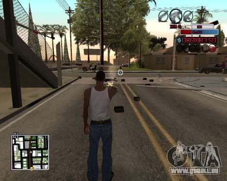 C-HUD by Braun pour GTA San Andreas