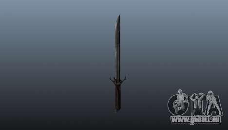 Dishonored Corvos Blade für GTA 4