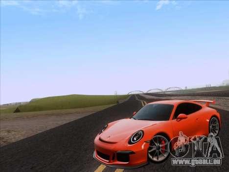 Porsche 911 GT3 2014 pour GTA San Andreas laissé vue