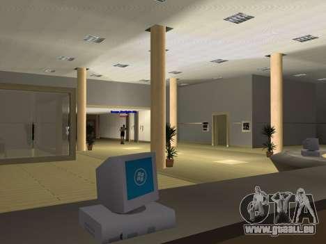 Neue Texturen Interior-Rathaus für GTA San Andreas zehnten Screenshot