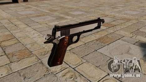 Colt 1911 Pistole Snake Eater für GTA 4 Sekunden Bildschirm