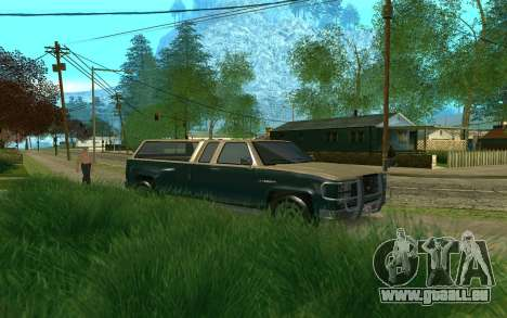 Bobcat XL de GTA 5 pour GTA San Andreas laissé vue