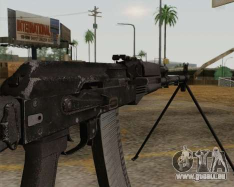 Le RPK-74 m pour GTA San Andreas troisième écran