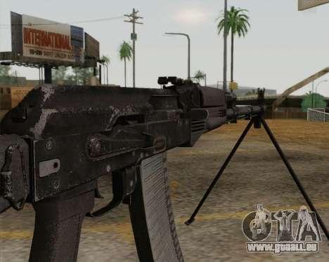 Die RPK-74 m für GTA San Andreas dritten Screenshot
