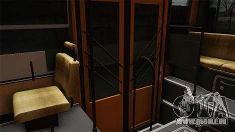 LIAZ 5256.00 pour GTA San Andreas vue intérieure