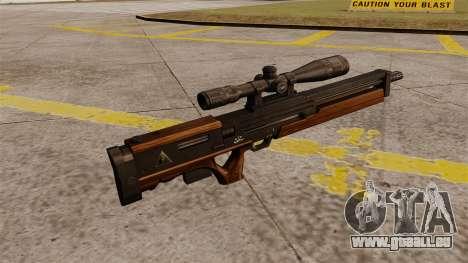 Die Walther WA 2000 Scharfschützengewehr für GTA 4 Sekunden Bildschirm