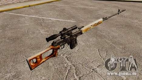 Dragunov sniper rifle v1 pour GTA 4 secondes d'écran