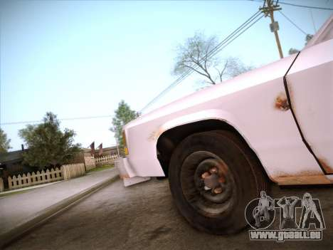 Ford LTD Crown Victoria 1985 pour GTA San Andreas salon