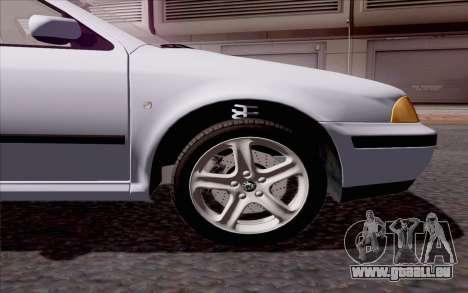 Skoda Octavia für GTA San Andreas Innenansicht