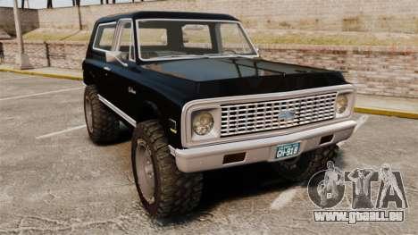 Chevrolet Blazer K5 1972 pour GTA 4