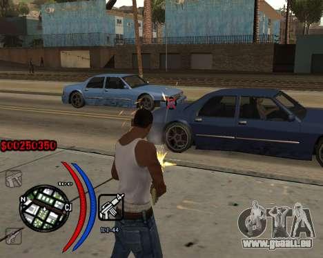C-HUD Carbon pour GTA San Andreas troisième écran