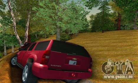 Chevrolet Suburban 2008 für GTA San Andreas rechten Ansicht