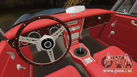 Austin-Healey 3000 Mk III 1965 für GTA 4 Innenansicht