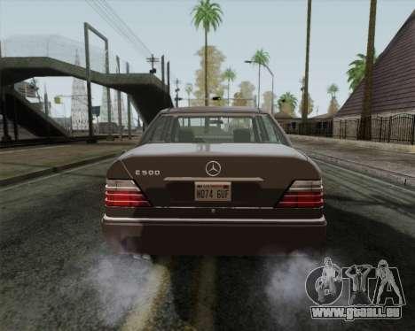 Mercedes-Benz W124 E500 pour GTA San Andreas vue de droite