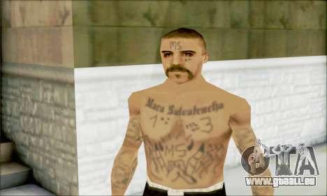 La Mara Salvatrucha Latino 1 pour GTA San Andreas troisième écran